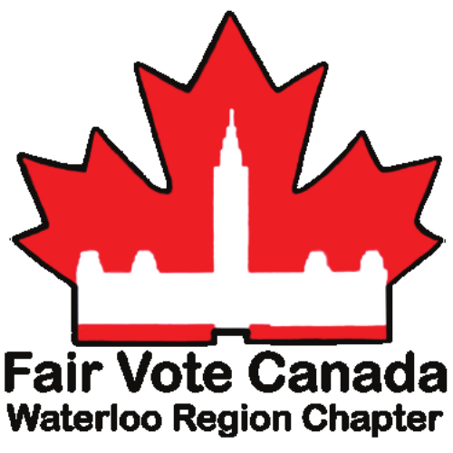 Fair Vote Canada Waterloo Region Chapter logo