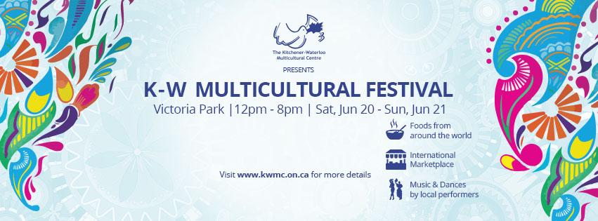 K-W Multicultural Festival, Victoria Park, 12pm - 8pm, Sat 20 June - Sun 21 June 2015