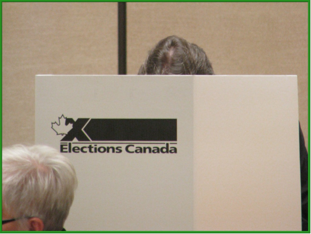 ... where the voter marks their choice on the ballot.