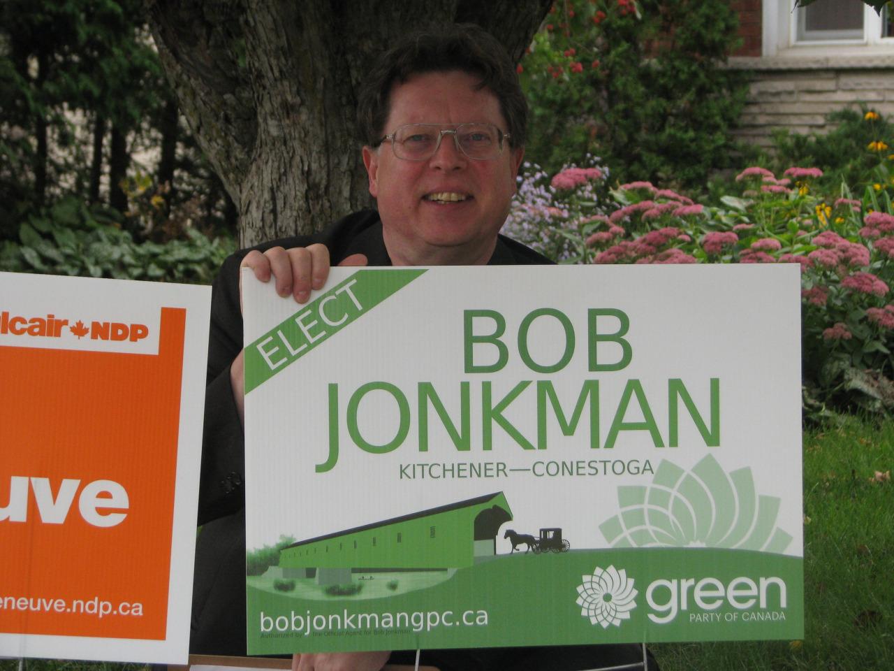 Bob and his sign