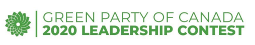 Green Party of Canada 2020 Leadership Contest logo