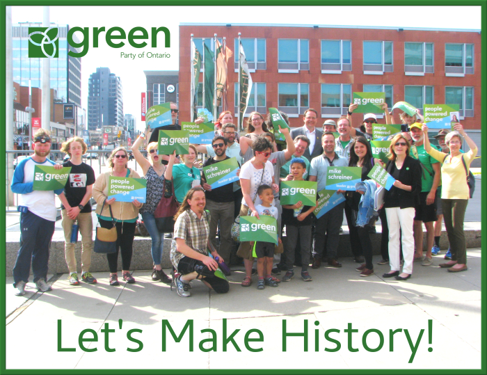 Green Party of Ontario | Let's Make History